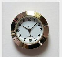 2021 Новое Золото 1 7/16 дюймов Пластиковые Вставка Часы Красивая Арабский Циферблат Подготовка Часы Быстрая корабль