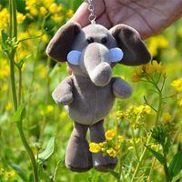 Peluche Dolls Cute Jungle Animal Lion Pendant Piccolo elefante Rhinoceros Tiger