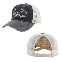 MS Product Horsetail Вышивка бейсболка бейсболка предотвращает BASK в бейсбольной кепке сетки сетки открытый контрактный солнцезащитный шляпа