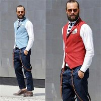 Men's Vests 2021 Street Fashion Bars And Nightclubs Fit Mens Suit Vest Male Waistcoat Gilet Homme Casual Sleeveless Formal Business Jacket