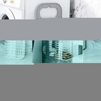 Laundry Bags Tools Bathroom Accessories Dirty Bucket Clothes Basket Rack Hamper Holder