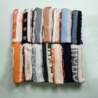 Designermarken für Männer und Frauen dicke warme Winterschalschalgröße von ca. 180 * 60 cm Flower Star Brief mit Verpackung