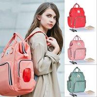 Fashion Brand Brand Grande capacità Mommy Zaino Impermeabile Pannolino per bambini Zaino Backpack Bag Cambio Borsa 836 x2