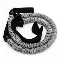 Sale Women Men 2pcs Ab Roller Pull Ropes Waist Belly Fitness Build Abdominal Slim Equipment Only Bands No Wheels Resistance
