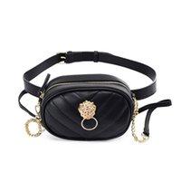 Waist Bags Ladies Leisure PU Dual-use Zipper Crossbody Bag Fanny Pack Fashion Luxury Backpack Small Fragrance High Grade Adjustable