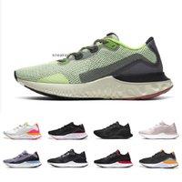 Triple White Recution Rening Run Runting Shoes البنفسجي فروست الأسود الجسيمات الرمادي بالكاد فولت البلاتين تينت الرجال النساء الرياضة أحذية رياضية 36-45