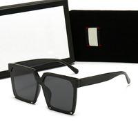 Luksusowa Qualtiy Moda Damska Kwadratowe Okulary Vintage Ograniczone Spolaryzowane Okulary przeciwsłoneczne Designer Outdoor Star Style Gogle z Pudełko
