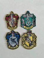 Harry Potter Cosplay Badge Gryffinder Slytherin College Scarf Pano Patch Braçadeira