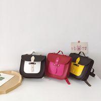어린이 미니 백팩 유아 소년 소녀 유치원 충돌 색상 유니폼 schoolbag 가방 귀여운 아이 야외 어깨 가방 F229