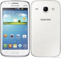Original recondicionado Samsung Galaxy Core GT-I8262 Duos Android 3G Telefone Dual Sim Desbloqueado 4,3 polegadas 5MP 1GB + 8GB Telefones Móveis