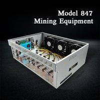 Modèle 847 mineurs Châssis de 8 cartes pour l'exploitation minière, un dispositif économique pouvant être mien de monnaies virtuelles, d'Ethereum et de Bitcoin