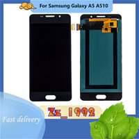 """Paneles táctiles del teléfono celular 5.2 """"Original de alta calidad para Samsung Galaxy A5 A510 pantalla de reemplazo del ensamblaje del digitalizador de la pantalla LCD"""