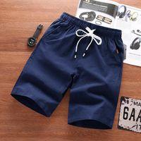 Boodvoice Brand Boardshorts de marque respirant Male Casual Shorts confortables Plus taille Cool Court Court Masculino Été Coton Men 55 Hommes
