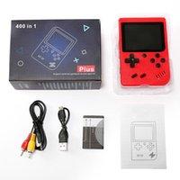 휴대용 핸드 헬드 비디오 게임 콘솔 레트로 8 비트 미니 게임 플레이어 400 게임 AV 게임 게임 플레이어 컬러 LCD 키즈 선물