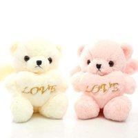 أفخم لعب جودة عالية الحب لينة دمية الدب الملاك محشوة الحيوان الدببة لعيد الحب هدية عيد الفتيان الفتيات هدايا عيد ميلاد