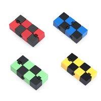 Magia Infinite Cubo ABS Fingertip Descompressivo Jogo Educacional Sensorial Infinite Cubos Artefato Infinito Infinito Flip Puzzle Ansiedade Alívio H41SDD5