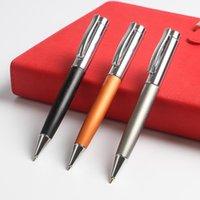 Papeterie en métal stylo à bille pour écriture Fournitures de bureau de l'école cadeau Logo personnalisé Publicité P766 Stylos