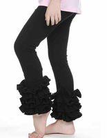 Fashion Kids Tiered Ruffle Leggings Girl Falbala Pantalon Pantalon Enfants Falbala Pants A6332