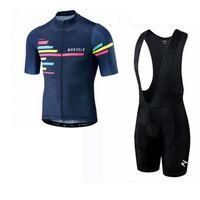 Morvelo equipe ciclismo mangas curtas jersey (BIB) conjuntos de calções pro roupas montanha respirável corrida esportes bicicleta mailot macio pele-friendly z41337