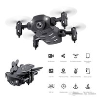 KK8 Katlanabilir Mini Drones RC FPV Quadcopter HD Kamera Wifi FPV Dron Jest Fotoğraf Yerçekimi Indüksiyon RC Helikopter Boy