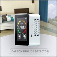 New Arrival Multifunctional Digital Display Indoor Outdoor CO2 Meter Digital Temperature Humidity Sensor Tester Air Quality Monitor Carbon Dioxide Detector