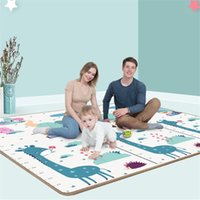 200*180cm*0.5cm Foldable Cartoon Baby Play Mat Xpe Puzzle Children's High Quality Climbing Pad Kids Rug Games s 210910