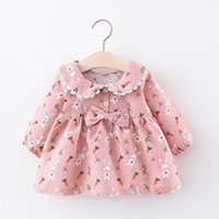 Girl's Dresses Spring Autumn Infant Clothes Casual Wear Cartoon Costumes Toddler Baby Girls Clothing Cute Vestidos