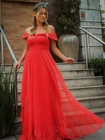 Charimg Evening Dress Off The Shoulder Long Prom Dresses for Special Occasions Custom Made