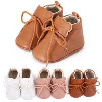 Baby Shoes First Walkers Newborn Shoe Girls Boys Infant Footwear Moccasins Soft Toddler Wear Casual Cartoon Spring Autumn 0-1T B8736