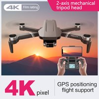 F4 GPS DRONE CON 5G WIFI FPV 2-Eje Gimbal 4K Cámara dual Profesional sin escobillas RC Quadcopter Dron Helicopter Toy vs SG906 PRO