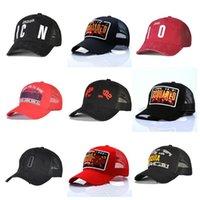 10 ألوان الكلاسيكية البيسبول كاب strapback بيع ic-on رجل مصمم القبعات غصيلة الحماس فاخر التطريز قبعات قابل للتعديل خلف الرسالة مع مربع