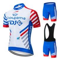 رجل الدراجات جيرسي مجموعة 2021 fdj الصيف الدراجة الجبلية ملابس فريق دراجة الدراجات جيرسي رياضية بدلة مايلوت روبا ciclismo