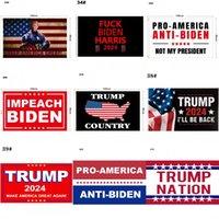 Не обвиняйте меня, я проголосовал за Флаги Дональда Трампа 2024 Правила изменили флаг втулки Патриотические избирательные украшения Banne OWB9186