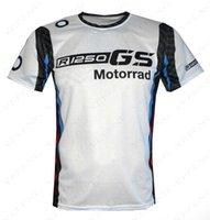 F1 T Shirts Competición Audiencia Camiseta R1250GS Motocicleta Aventura Motos Motos Locomotora Montar Secado rápido Manga corta BMW Motorrad Motocross Team Tshirts Kau4