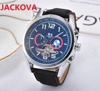 Men Watch Automatic Machinery Top Sports Calendar 2813 Movement Leather Strap Luminous Waterproof Wristwatch