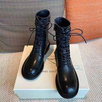 سريع جودة عالية مصمم أحذية فاخرة للنساء 100٪ الجلود الخريف / الشتاء 2021 الكلاسيكية مارتن السائق الأزياء أحجام 35-41