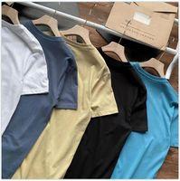 2021 92953 Summer Short T-shirt Causal Mens T-Shirts Designer Tshirt Men's Tees M-2XL 6 Colors