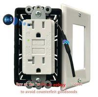 4 K Pinhole Kameralar Wifi Kamera AC Duvarda Gizli GFCI Soket Dadı Temizlikçi Güvenlik Video Kaydedici