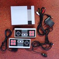 جديد وصول ميني تي شوب يمكن تخزين 620 500 لعبة وحدة الفيديو المحمولة من أجهزة الألعاب NES مع صناديق البيع بالجملة