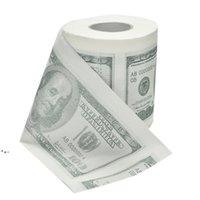 الجملة 1hundred الدولار فاتورة ورق التواليت المطبوعة أمريكا دولار أمريكي الأنسجة الجدة مضحك NHD8281
