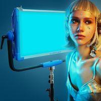 Yidoblo AI-3000C 300W DMX LED RGB panel light broadcast Lamp F Film Photography Studio Lighting with wireless Bluetooth Control