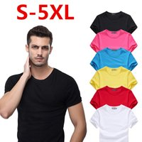 2021 Cotton Sports Small Horse Crocodile Embroidery T Shirt Casual Short-Sleeve Running Undershirt Gym Fitness Jogger High Quality 5XL