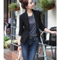 Women's Suits & Blazers Oversize Fashion Women Slim Fit Blazer Suit Casual Office Lady Single Button Jacket Coat Outfits S-3XL