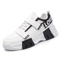 50% discount Discount luxury designer Casual ace men Shoes Lace-up White Black Two-tone Rubber Sole factory sneaker size 39-44 f