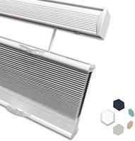 يمكن وضع مصاريع الستائر العسل لأعلى ولأسفل، عزل ضوء فلتر اللاسلكي المخصص، مكافحة الضوضاء، مناسبة للمكاتب المنزلية