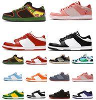 Erkekler Kadınlar Düz Ayakkabı Dunk Tıknaz Dunky Düşük Kentucky Üniversitesi için Düşük Kırmızı Yeşil Ayı Syracuse Chicago Sevgililer Günü Bayan Eğitmenler Açık Spor Sneakers