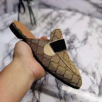 2021 Fashion Designer Classic Woman Sandals Slipper Shoe Casual Shoes Flat Slide Dust Bag High Quality Size 34-46