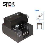 SHBK A4 طابعة زجاجة أسطوانية للأشعة فوق البنفسجية مع موقف دائرة مجانية وتركيب الهاتف المحمول بطاقة الهاتف المحمول شعار A4-6plus