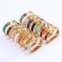 Cleef Armband Herme Damen Ringe Anhänger Halsketten Schraube Van Party Hochzeit Paar Geschenk Liebe Mode Luxus Designer Cartic Größe # 17 H06