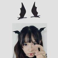 Hair Accessories 2 4pcs Girl Halloween Stereo Devil Hairgrips Headband Hairband Headwear Horns Ears Hairpins Barrettes Clip